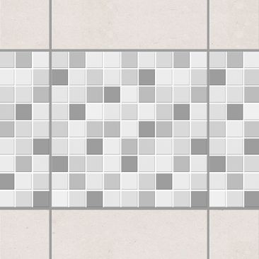 Product picture Tile Border - Mosaic Tiles Winter Set...