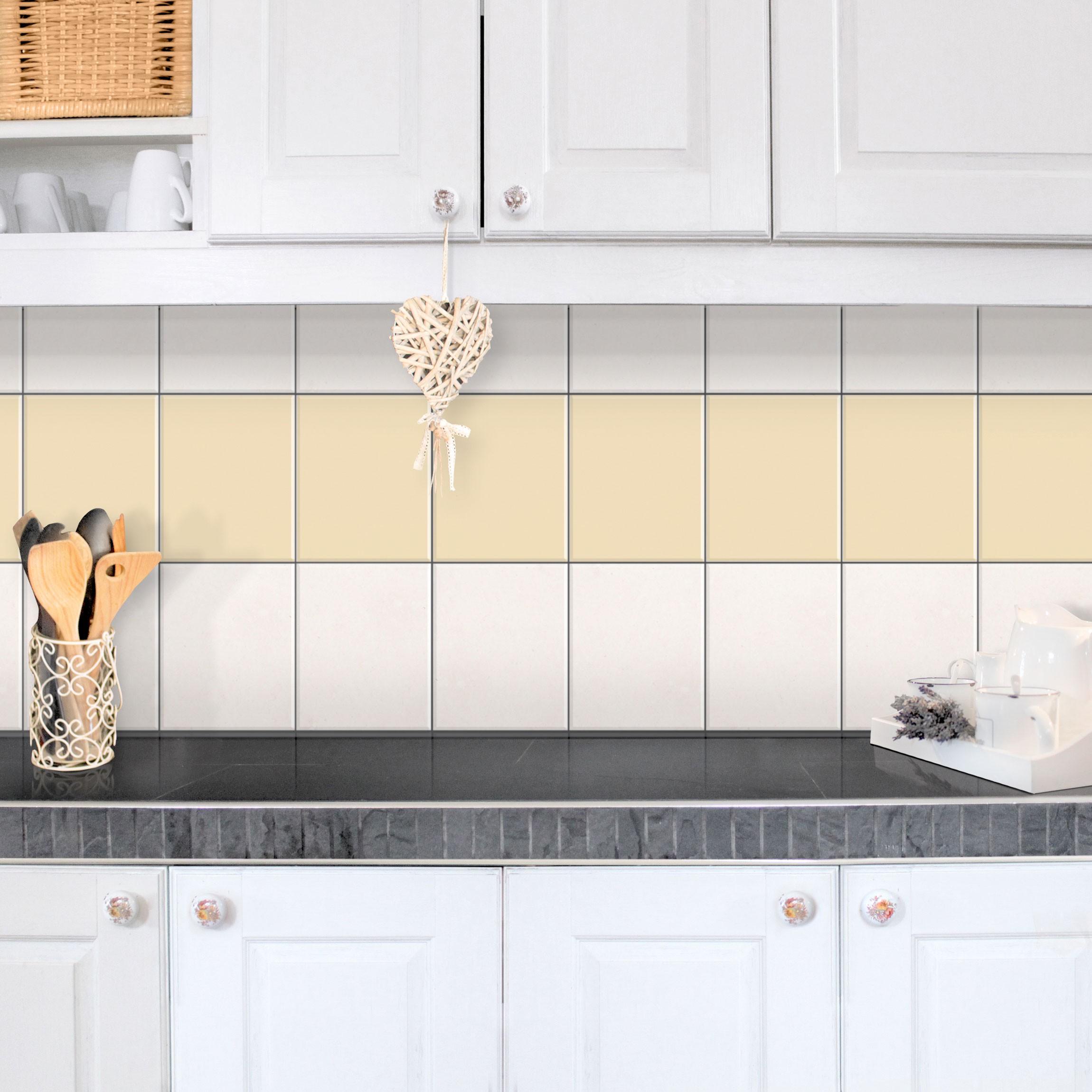 fliesen bord re colour light brown 25x20 cm fliesenaufkleber beige. Black Bedroom Furniture Sets. Home Design Ideas