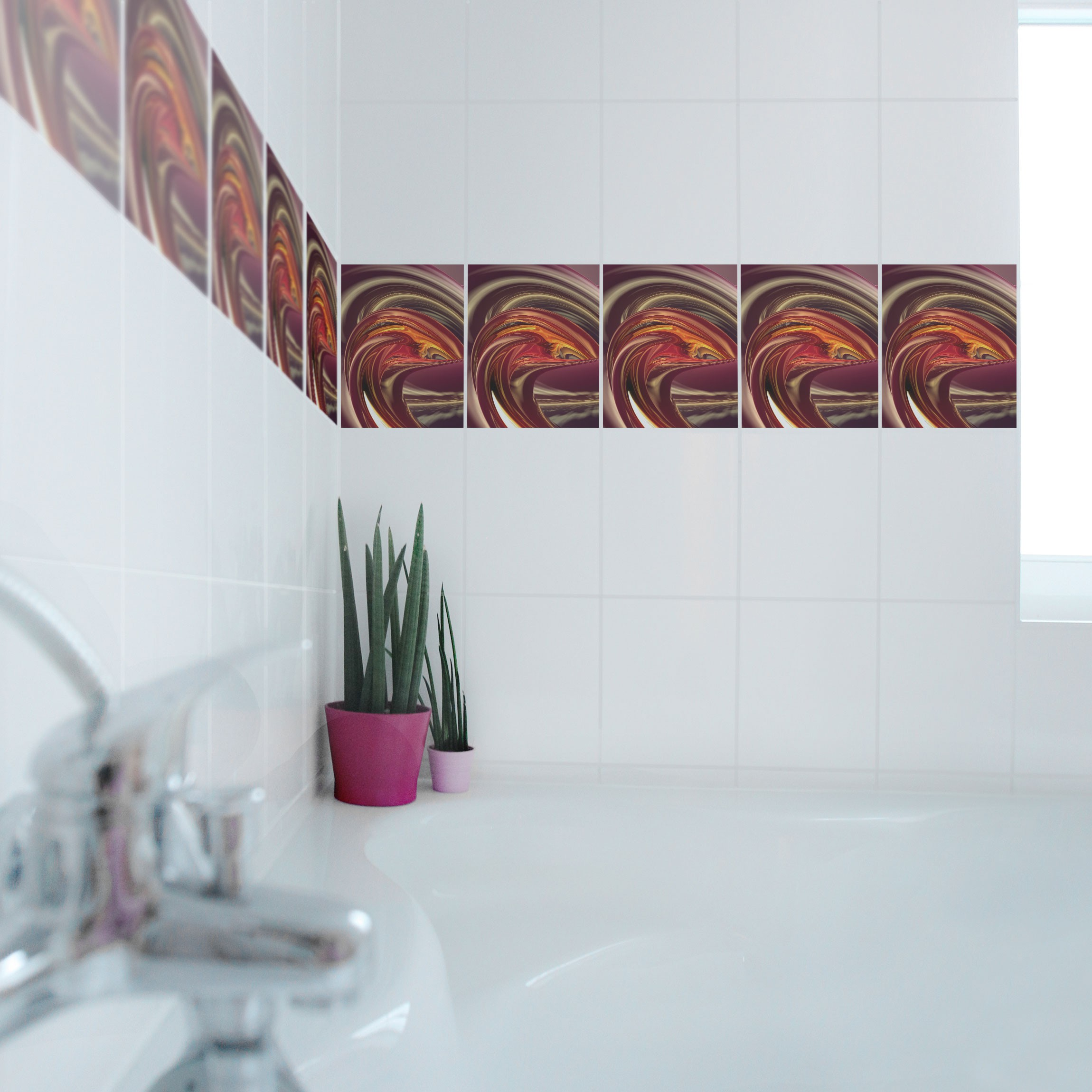 fliesen bord re fantastic burning 25x20 cm fliesenaufkleber. Black Bedroom Furniture Sets. Home Design Ideas