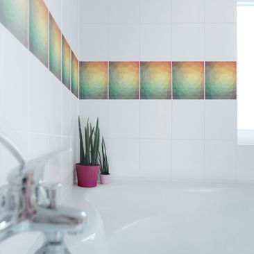 Product picture Tile Border - Triangular No.RY32 25cm x...