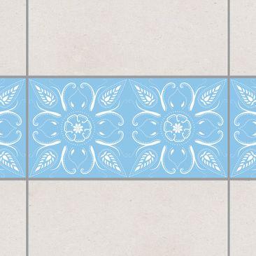 Immagine del prodotto Bordo adesivo per piastrelle - Bandana Light Blue 30cm x 60cm