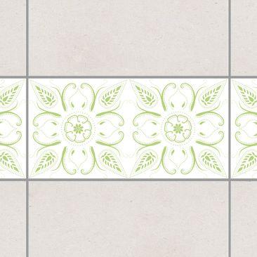 Immagine del prodotto Bordo adesivo per piastrelle - Bandana White Spring Green 30cm x 60cm