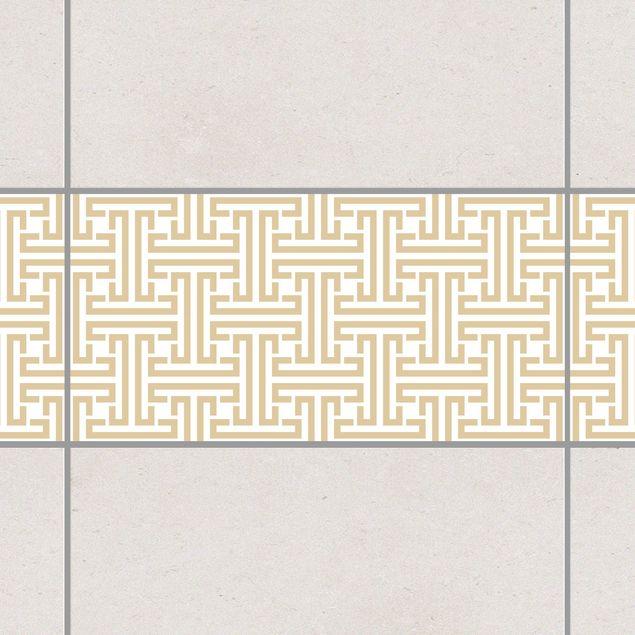 Produktfoto Fliesen Bordüre - Dekoratives Labyrinth...