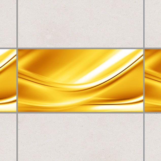 Produktfoto Fliesen Bordüre - Golden Glow 30x60 cm - Fliesenaufkleber
