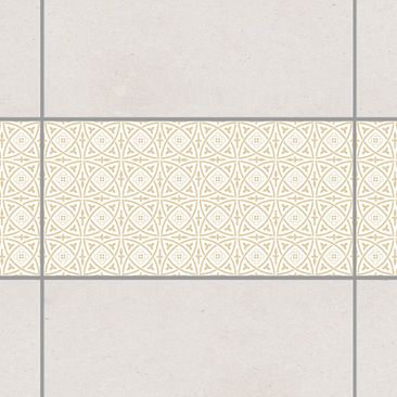 Produktfoto Tile Border - Celtic White Light Brown...