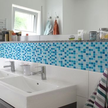 Product picture Tile Border - Mosaic Tiles Sound of the...