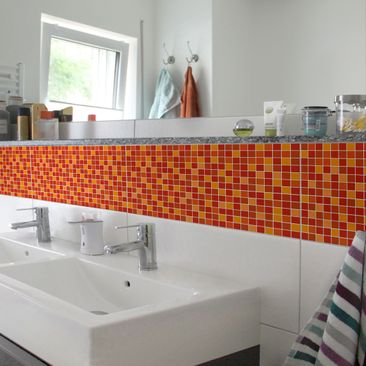 Product picture Tile Border - Mosaic Tiles Sunrise 30cm...