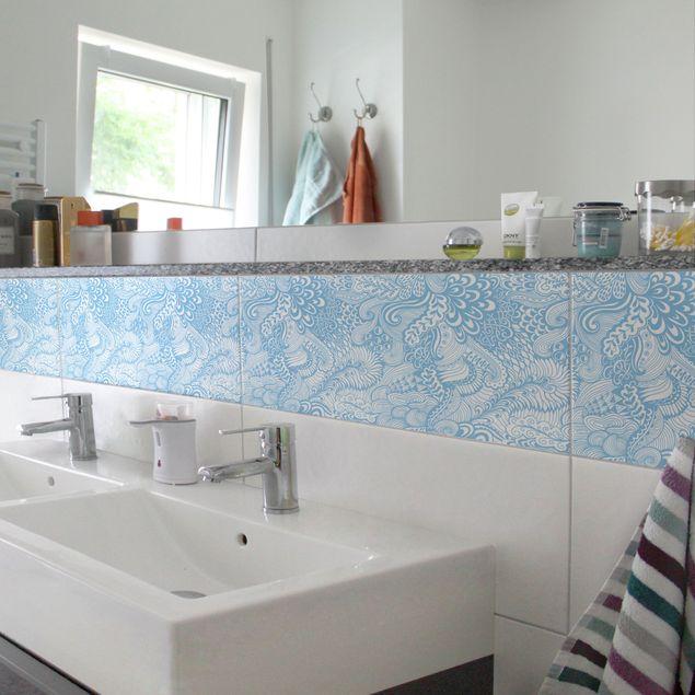 Produktfoto Fliesen Bordüre - Poseidons Garten...
