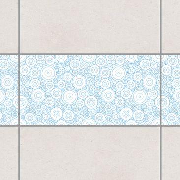 Product picture Tile Border - Secession White Light Blue...
