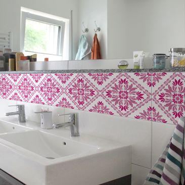 Product picture Tile Border - Vera Rosa 30cm x 60cm