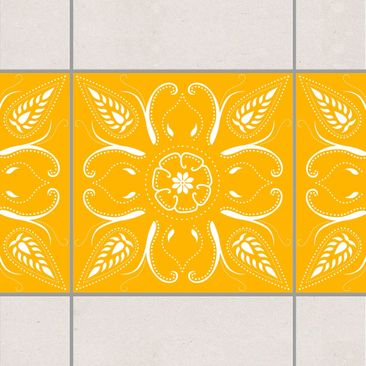 Product picture Tile Border - Bandana Melon Yellow 15cm...