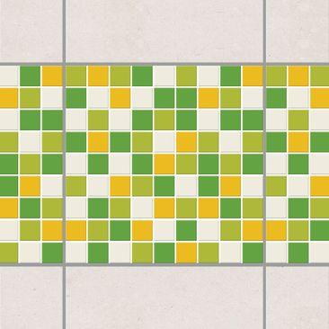Immagine del prodotto Bordo adesivo per piastrelle - Mosaic Tiles Spring Set 15cm x 15cm
