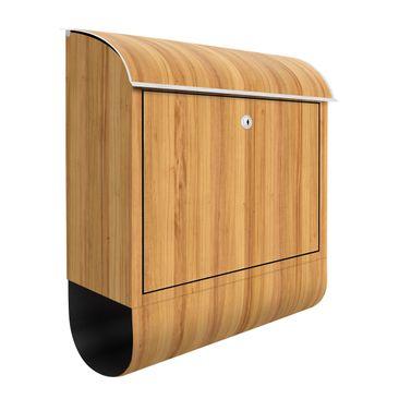 Produktfoto Briefkasten Holz - Weißtanne -...