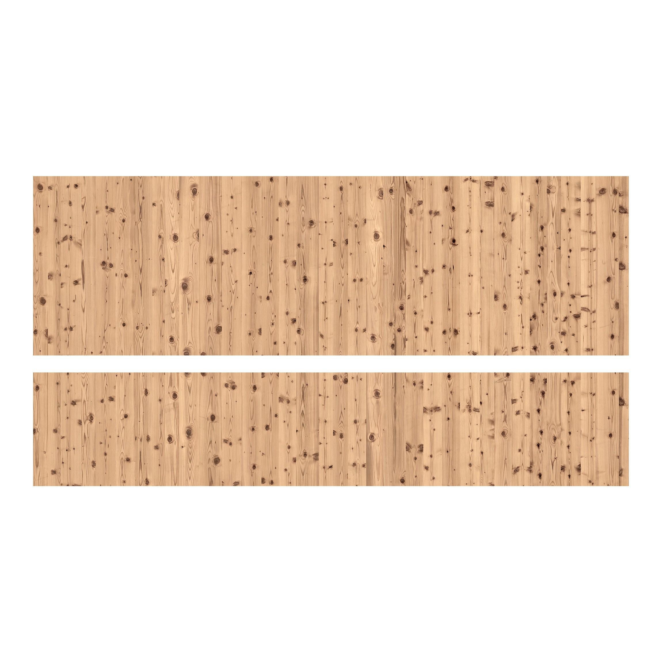 m belfolie f r ikea malm bett niedrig 140x200cm klebefolie antique whitewood. Black Bedroom Furniture Sets. Home Design Ideas