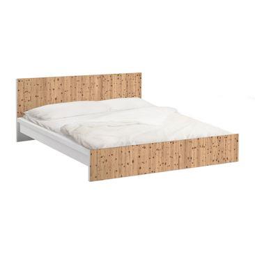 Immagine del prodotto Carta adesiva per mobili IKEA - Malm Letto basso 140x200cm Antique Whitewood