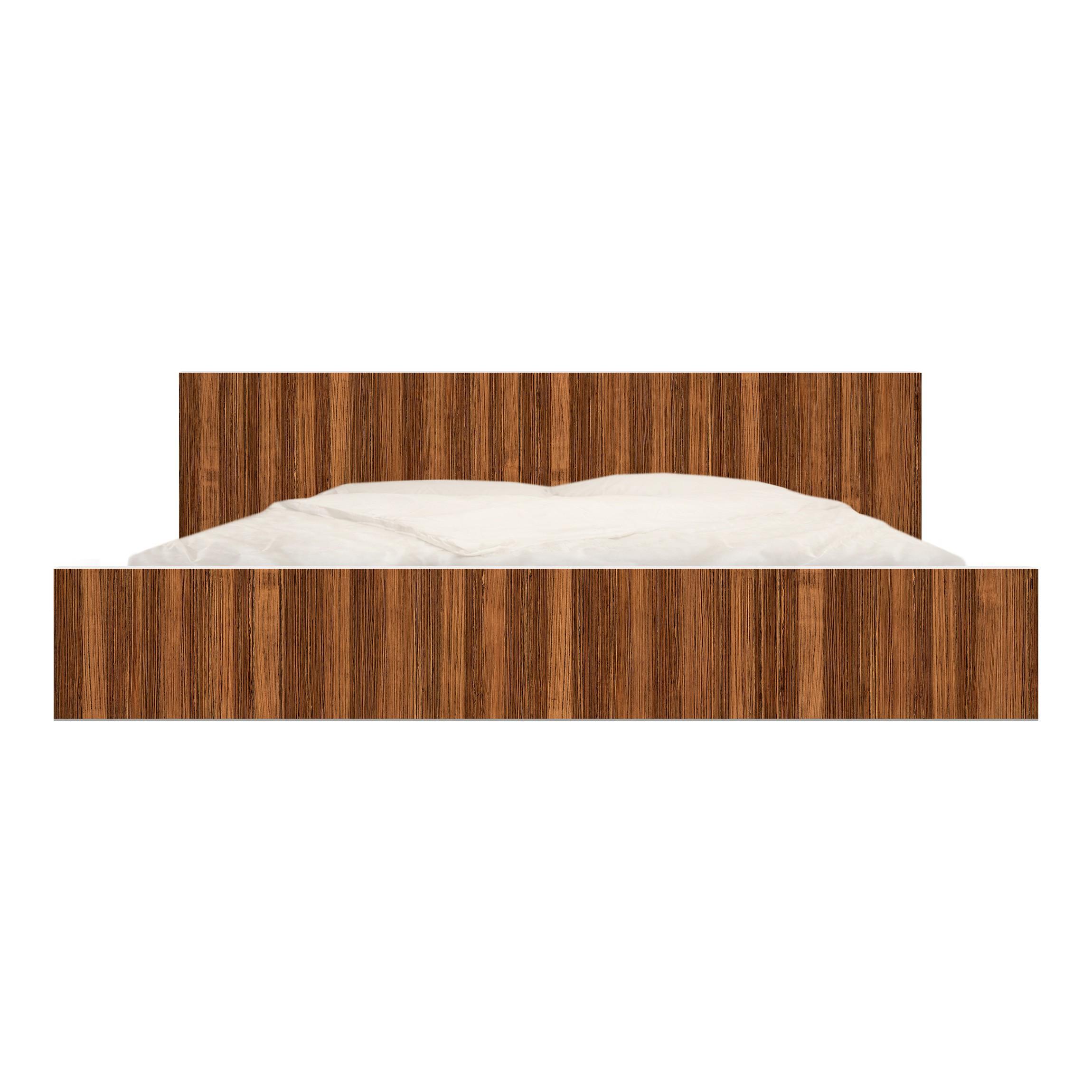 Carta adesiva per mobili ikea malm letto basso 180x200cm amazakou - Mobili letto ikea ...