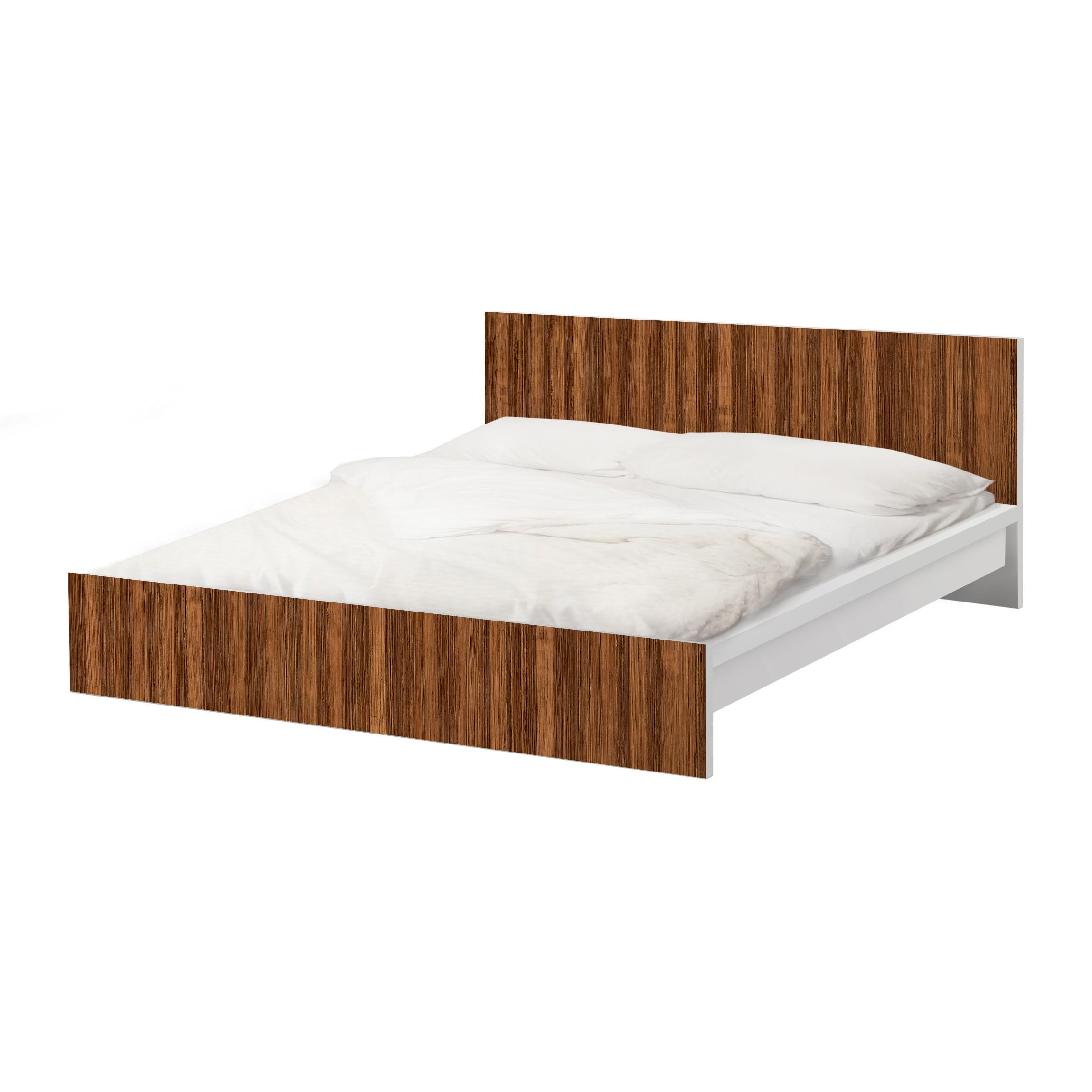 m belfolie f r ikea malm bett niedrig 180x200cm klebefolie amazakou. Black Bedroom Furniture Sets. Home Design Ideas