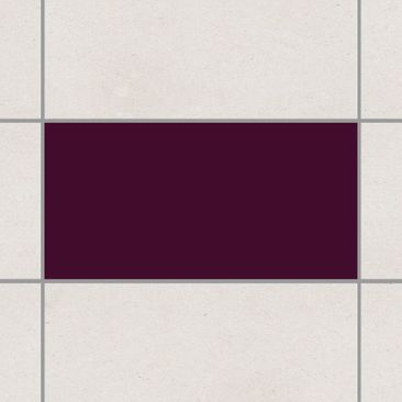 Product picture Tile Sticker - Aubergine 30cm x 60cm
