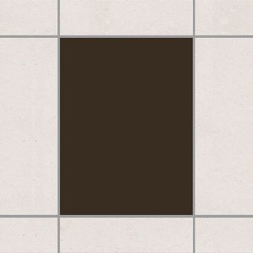 Product picture Tile Sticker - Brown 20cm x 15cm