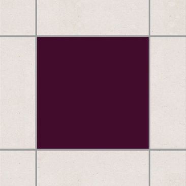 Product picture Tile Sticker - Aubergine 10cm x 10cm