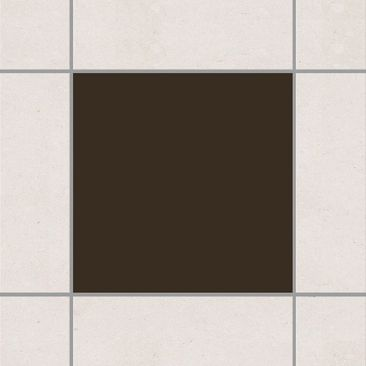 Product picture Tile Sticker - Brown 10cm x 10cm
