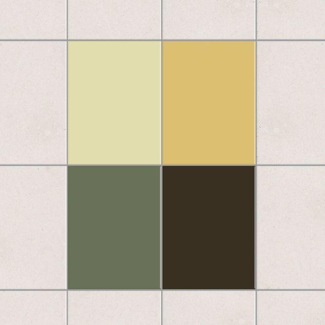 Produktfoto Fliesenaufkleber - Farbset Herbst 20x15 cm - Fliesensticker Set