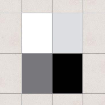 Immagine del prodotto Adesivo per piastrelle - Colour Set Monochrom 20cm x 15cm