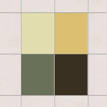 Produktfoto Fliesenaufkleber - Farbset Herbst 25x20 cm - Fliesensticker Set
