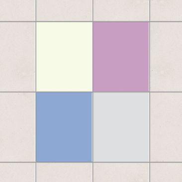 Produktfoto Fliesenaufkleber - Farbset Winter 25x20 cm - Fliesensticker Set