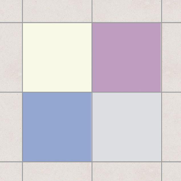 Produktfoto Fliesenaufkleber Bad & Küche - Farbset Winter 15x15 cm - Set