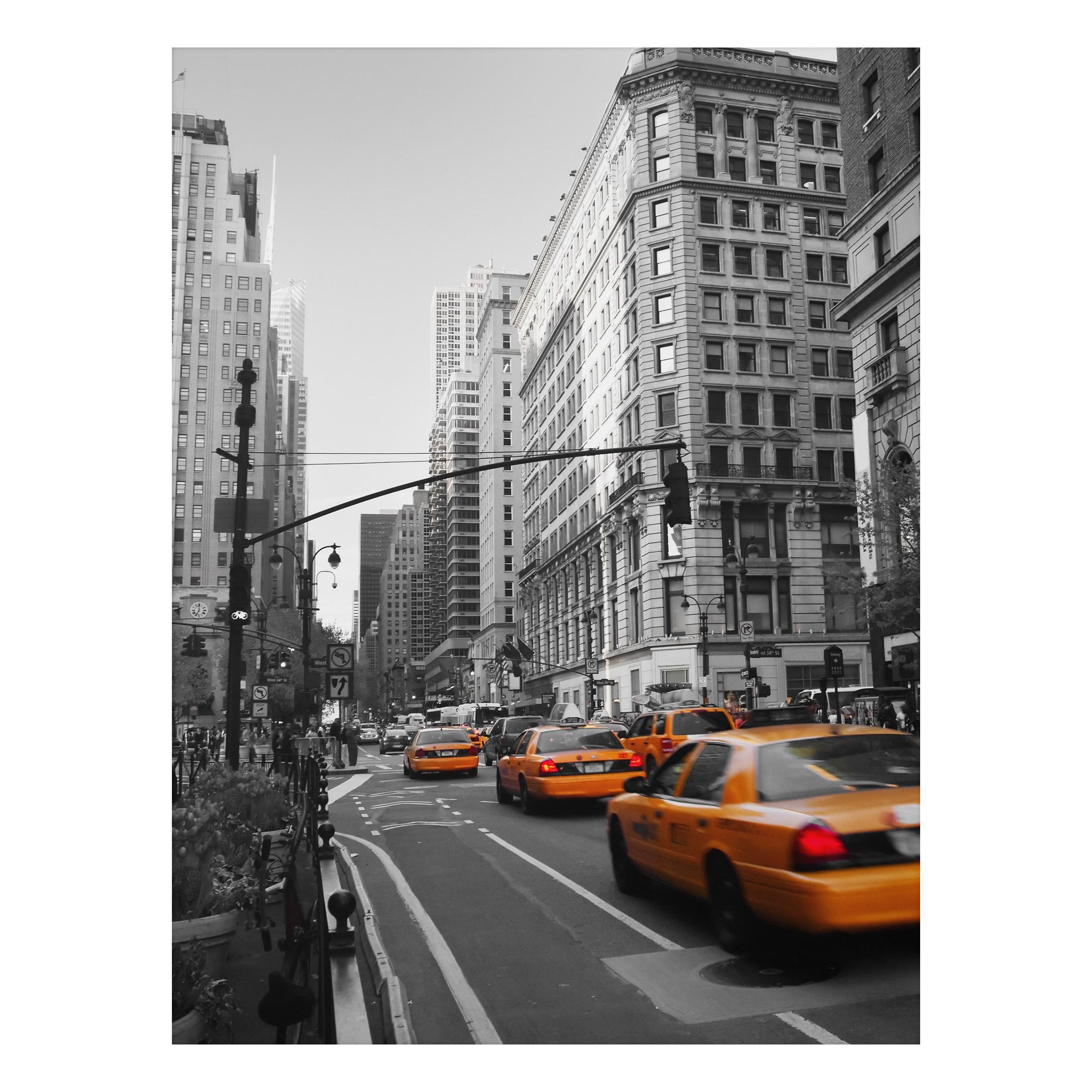 Aluminium print wandbild new york new york hoch 4 3 - Wandbild new york ...