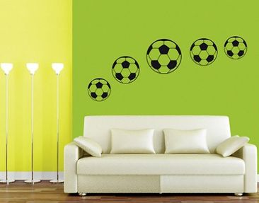 Product picture Wall Decal no.BR197 Footballs