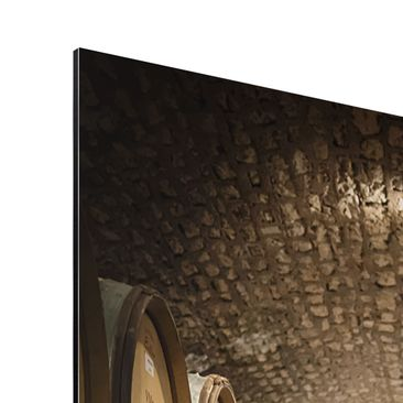 Product picture Aluminium Print - Mural Wine cellar -...