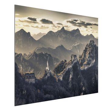 Produktfoto Aluminium Print - Wandbild Die große chinesische Mauer - Quer 3:4