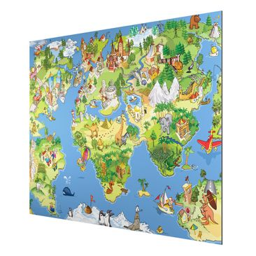 Product picture Aluminium Print - Mural Great and Funny...