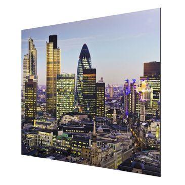 Product picture Aluminium Print - Mural London City -...