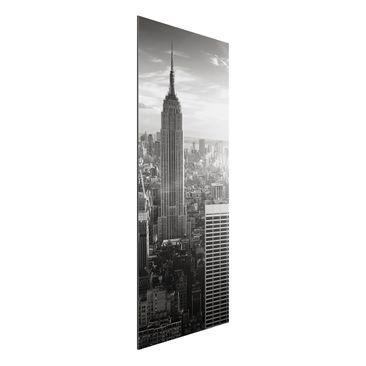 Product picture Aluminium Print - Mural Manhattan...