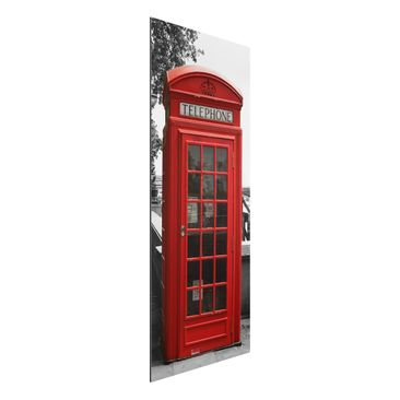 Produktfoto Aluminium Print - Wandbild Telephone - Panorama Hoch