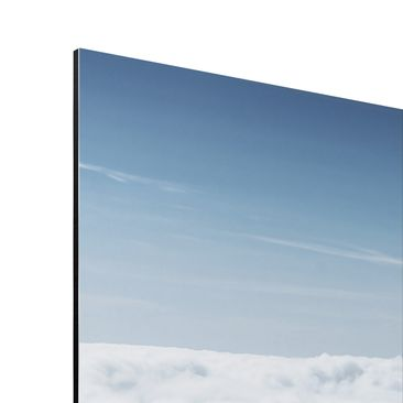 Product picture Aluminium Print - Mural The Alps Above...
