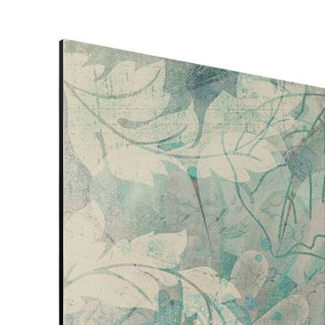Product picture Aluminium Print - Mural Frost Pattern -...