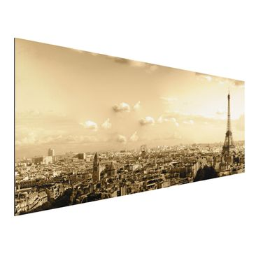 Product picture Aluminium Print - Mural I Love Paris -...