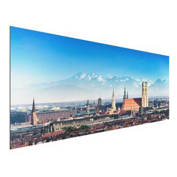 Immagine del prodotto Stampa su alluminio - Munich - Panoramico