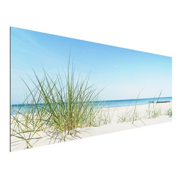 Product picture Aluminium Print - Mural Baltic coast -...