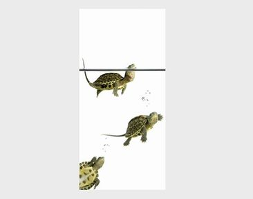 Produktfoto Wandbild XXL No.40 Diving Turtles 100x210cm