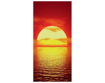 Produktfoto Wandbild XXL No.15 Red Sunset 100x210cm