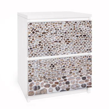 Immagine del prodotto Carta adesiva per mobili IKEA - Malm Cassettiera 2xCassetti - Andalusian Sonewall