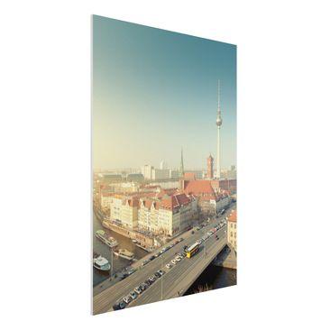 Immagine del prodotto Stampa su Forex - Berlin Morning -...