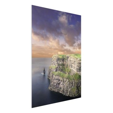Produktfoto Forex Fine Art Print - Mural Cliffs of...