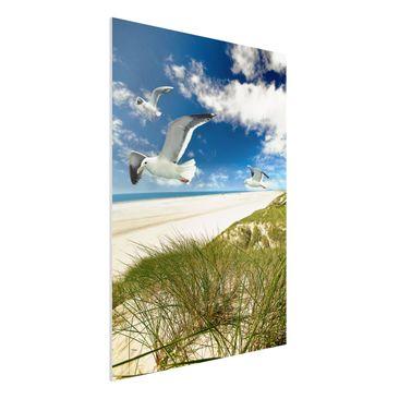 Produktfoto Forex Fine Art Print - Wandbild Dune Breeze - Hoch 4:3