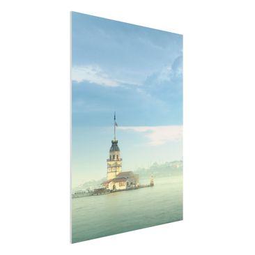 Produktfoto Forex Fine Art Print - Wandbild Maidens Tower - Hoch 4:3